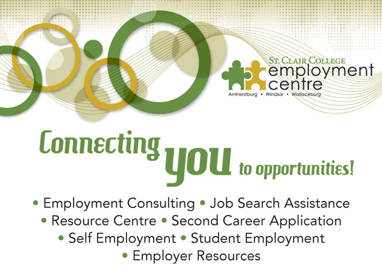 St Clair College Employment Centres - Windsor, Amherstburg and Wallaceburg