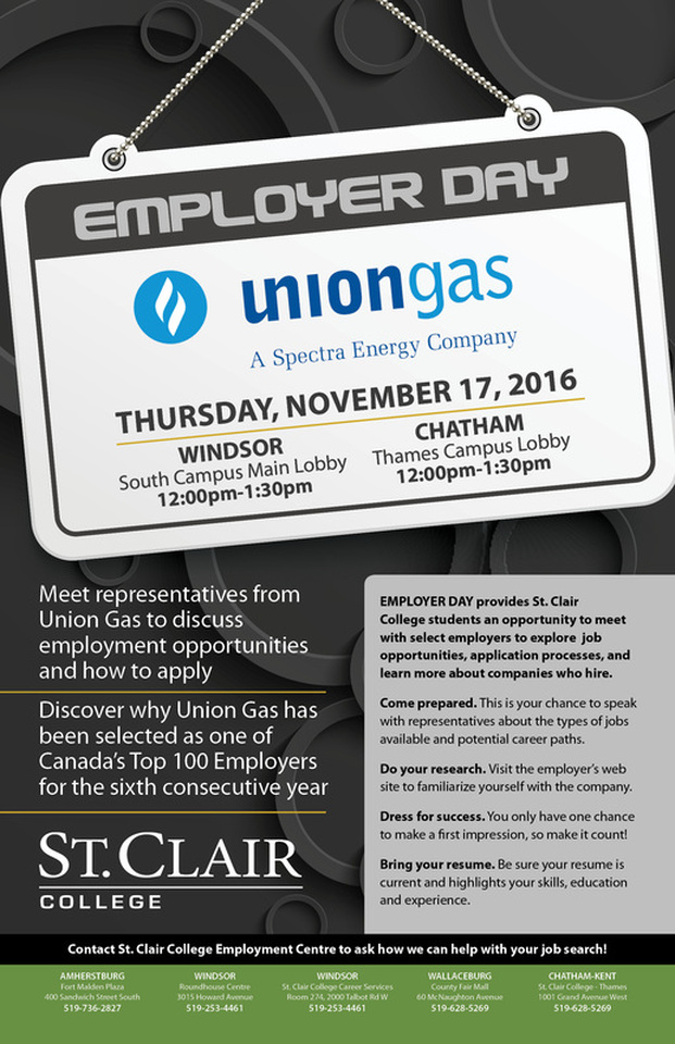 Union Gas Employer Day