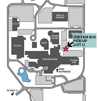 st clair college campus map Job Fair Bus Schedules Parking st clair college campus map